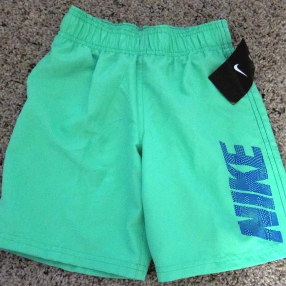 7785e5cd33 Nike Swim | Boys Shorts 5 Neon Green Mesh New | Poshmark